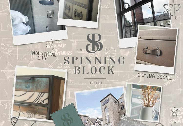 Spinning Block Hotel mood board