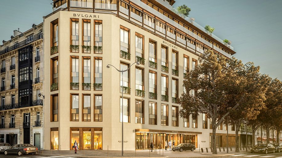 Paris next for bulgari hotels hotel designs for Hotel design original paris