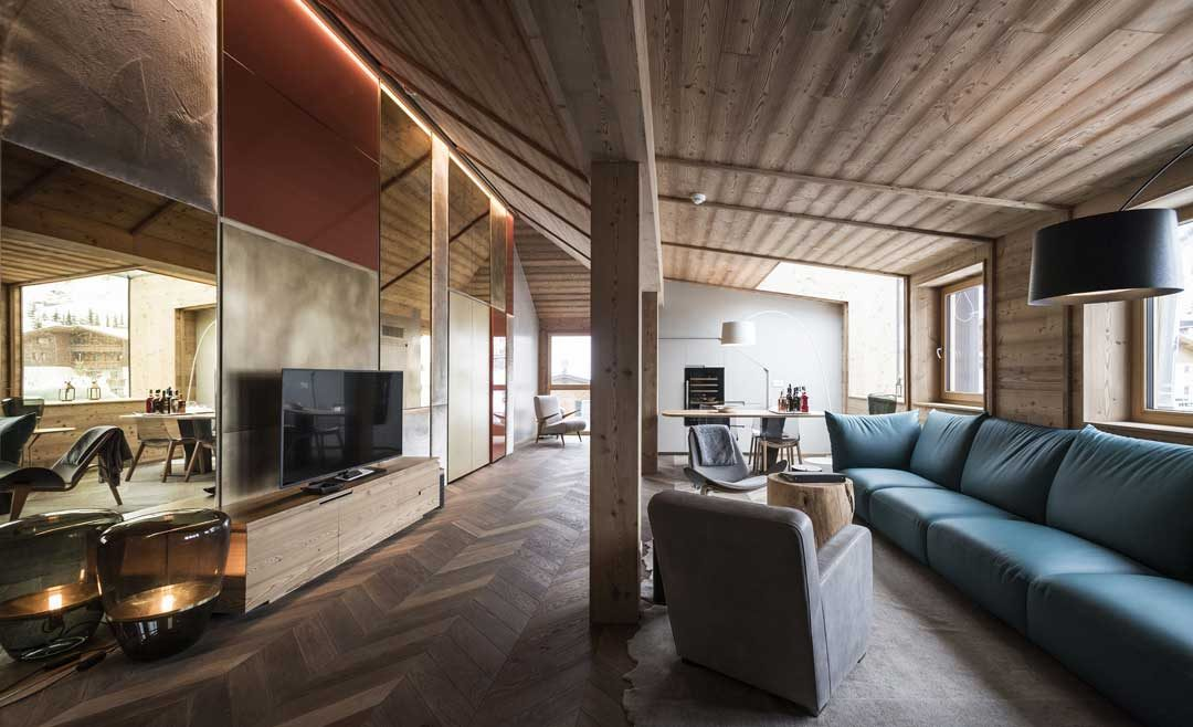 Alpine Tradition Meets Contemporary Design At The Rosa Alpina Hotel - Hotel and spa rosa alpina