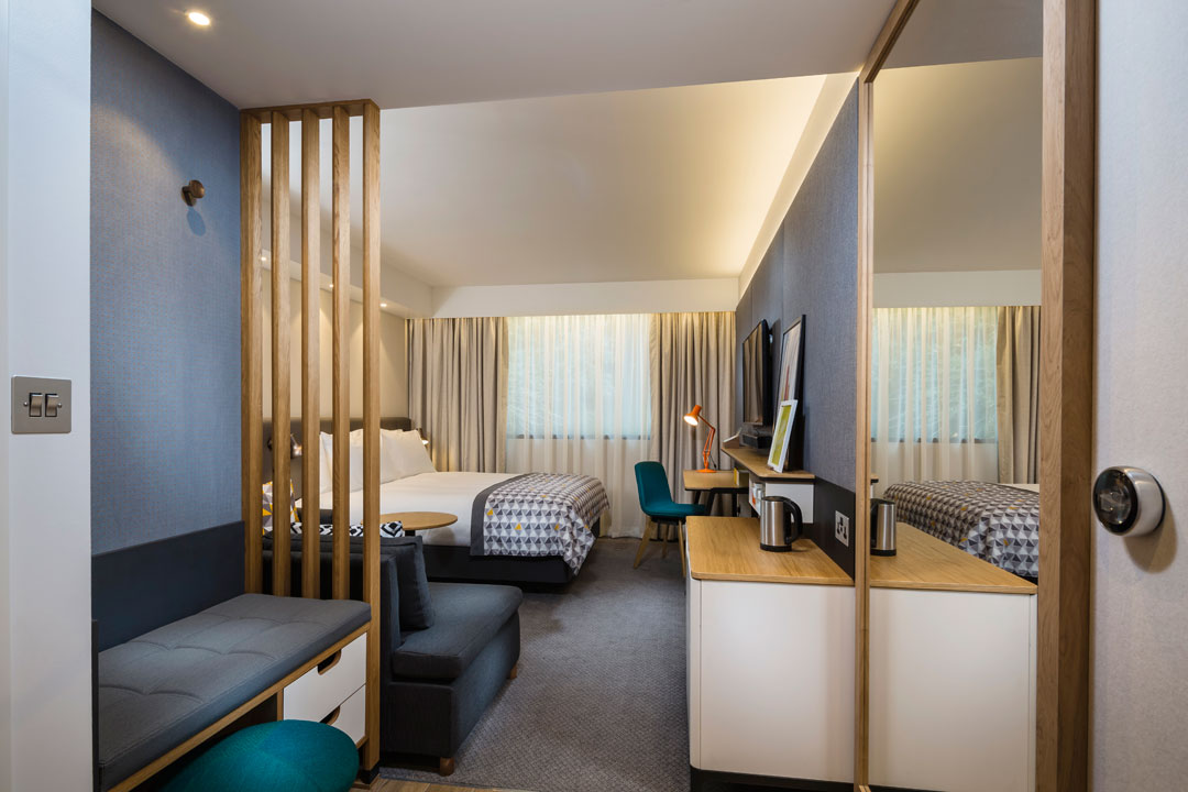 Multi million pound refurbishment begins at ramada for Hotel bedroom designs