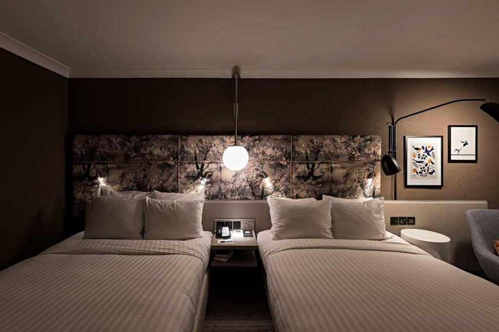 Artiq And Anita Rosato Interior Design Curate Zoological Collection For London Marriott Hotel Regents Park Hotel Designs