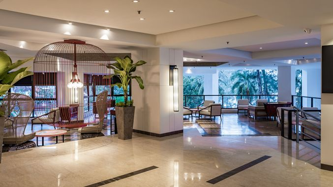 Large lobby area