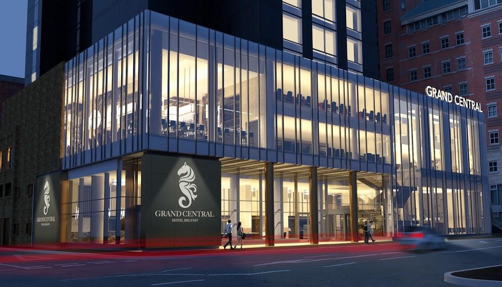 Grand central hotel belfast prepares to open designs