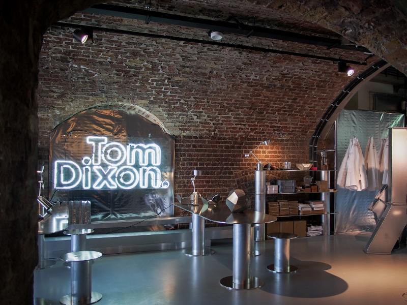 Interior of the Tom Dixon The Factory