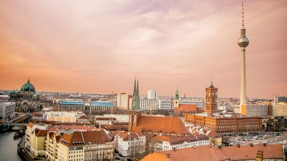 Skyline of Berlin. Image credit: https://pixabay.com/en/berlin-skyline-architecture-city-1249080/