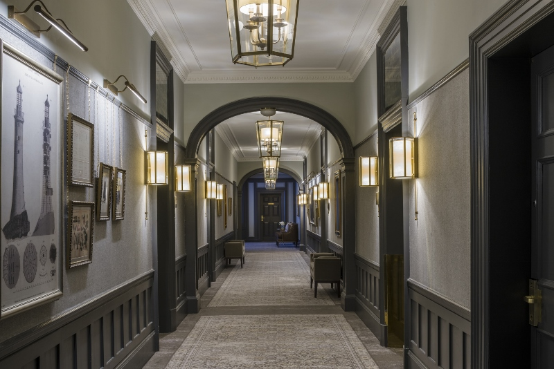 Long corridors at Gleneagles
