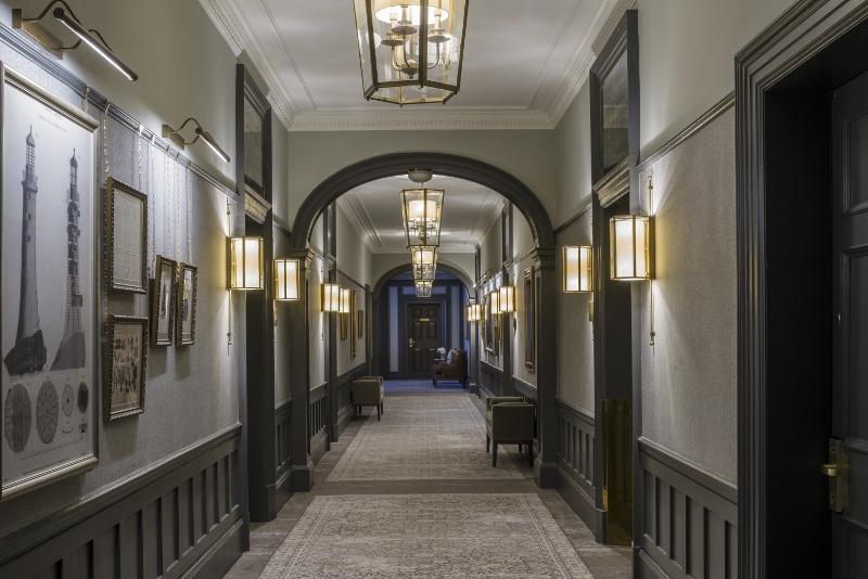 Long corridors at Gleneagles