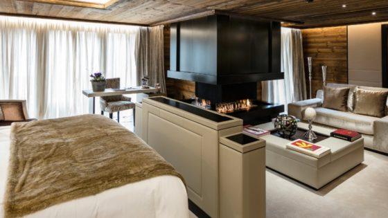 Cozy suite in the hotel