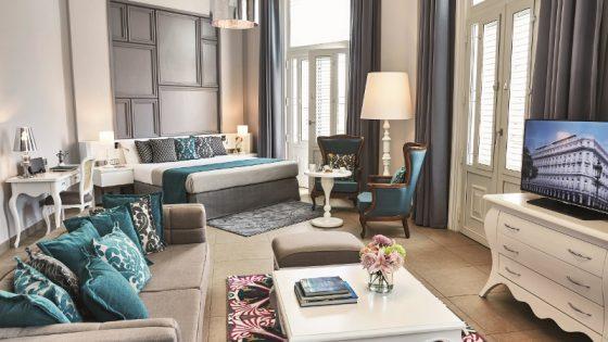 Modern European-styled suite