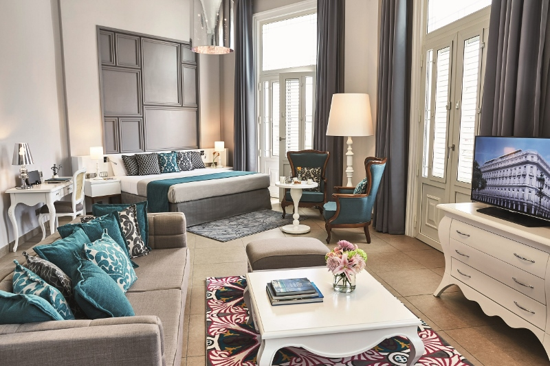 Modern European-styled suite