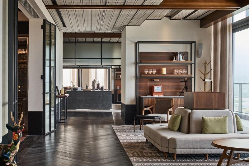 Modern hotel Rosewood
