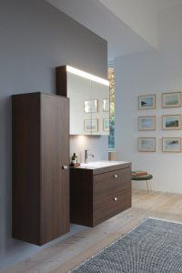 Modern bathroom featuring the new range