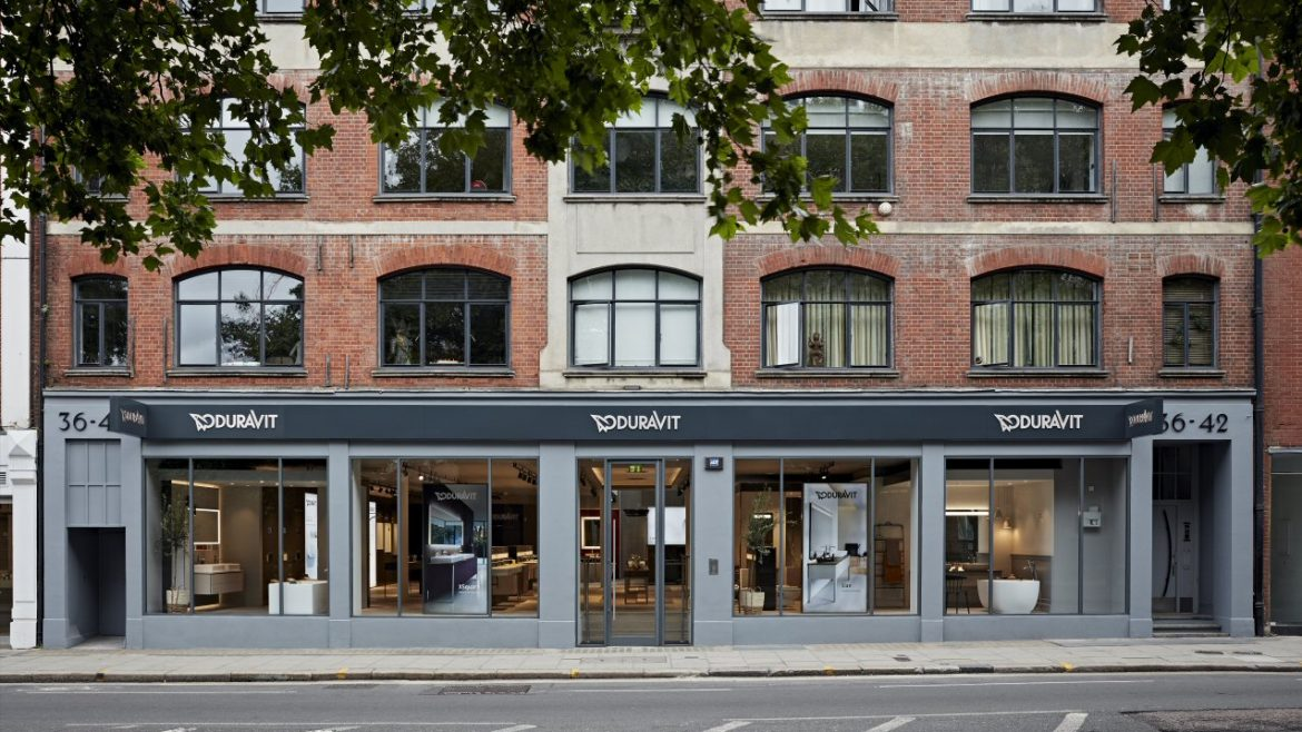 Exterior of the showroom in Clerkenwell