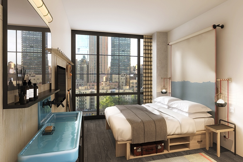 First Look Collaboration Is King To Open Moxy Chelsea