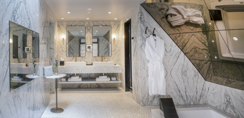 Bathroom of the penthouse