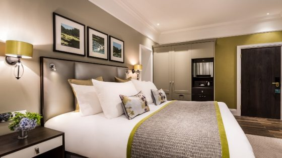 Light, modern newly unveiled guestrooms