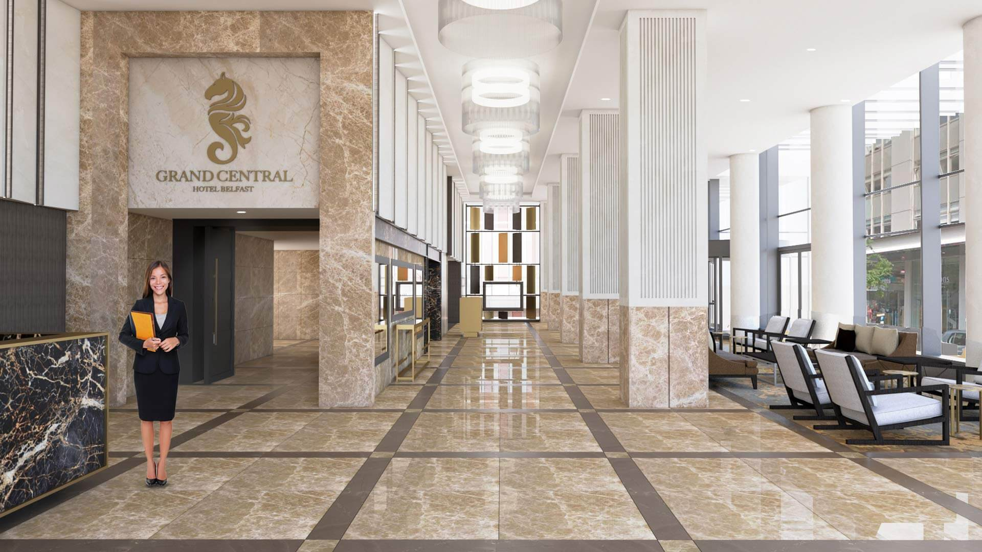 The Grand Central Hotel In Belfast Opens Hotel Designs