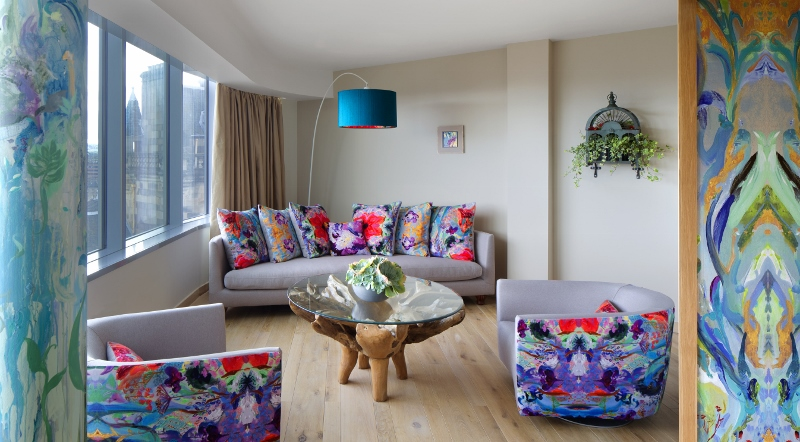 Edinburgh Hotel Launches Living Art Concept Allowing Guests To