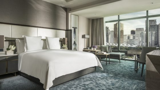 Guestroom concept at Four Seasons Kuala Lumper