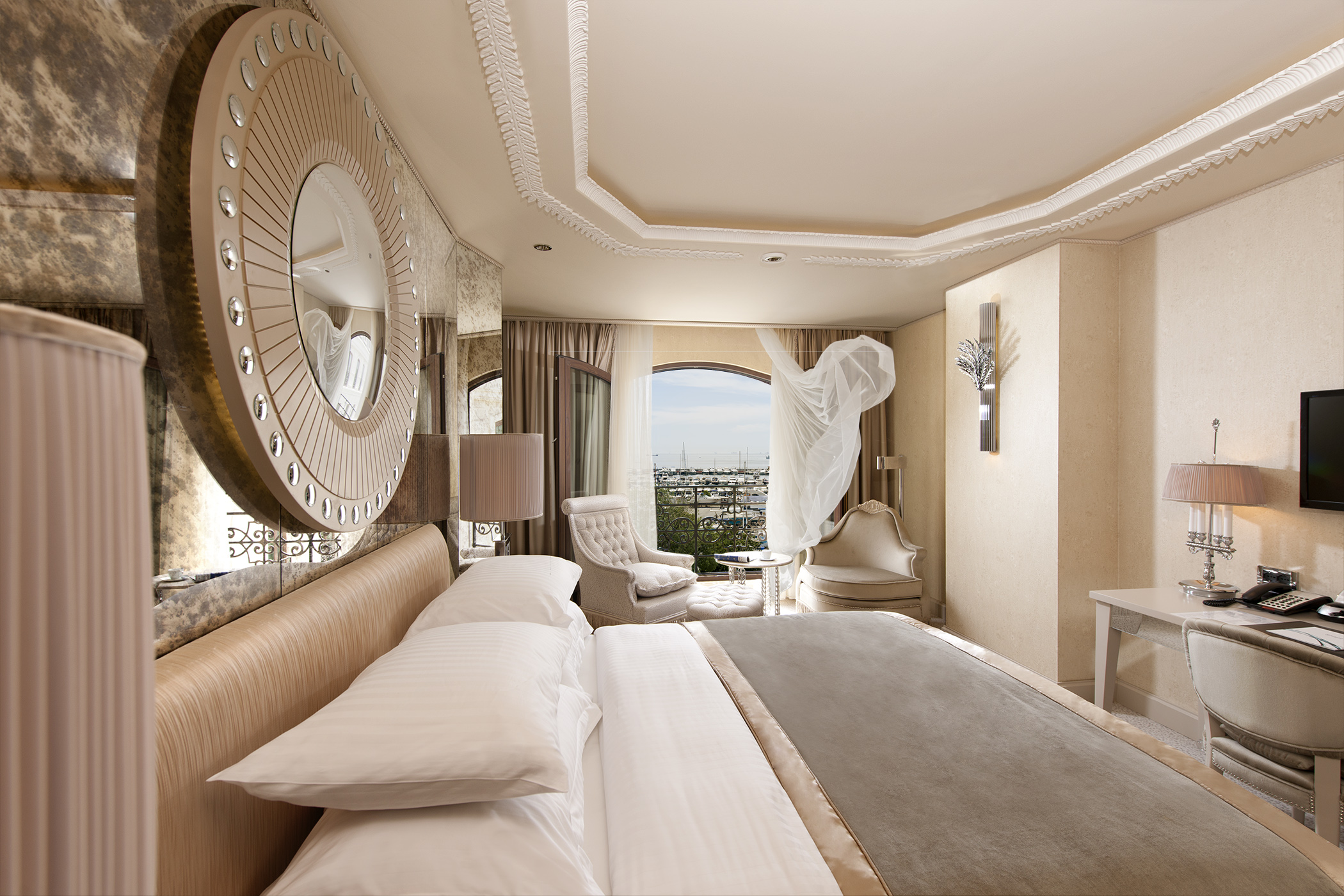 Guestroom at Wyndham Istanbul Kalamis Marina