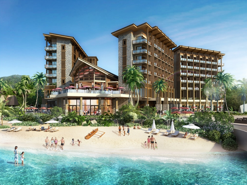 Render of Wyndham Palau