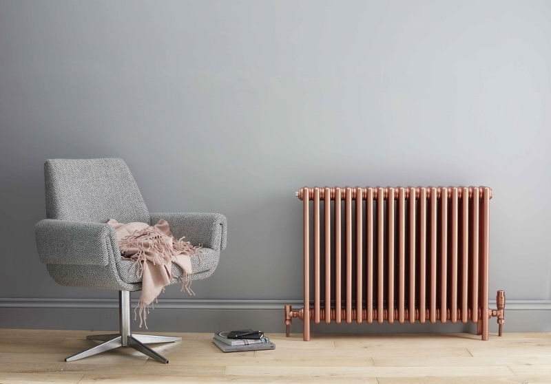 Bisque Rose gold radiator