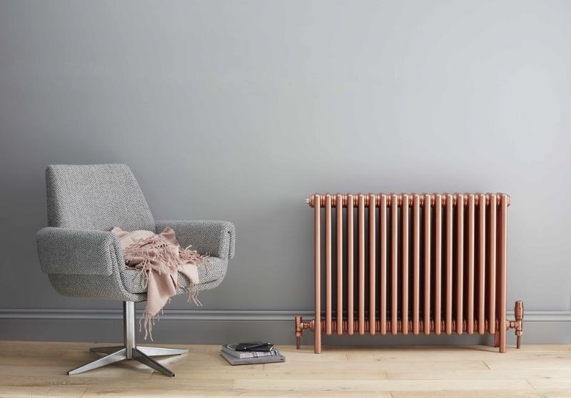 Bisque Rose gold radiator