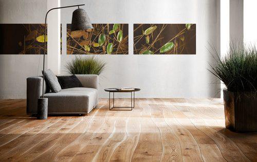 Wooden flooring in contemporary interiors