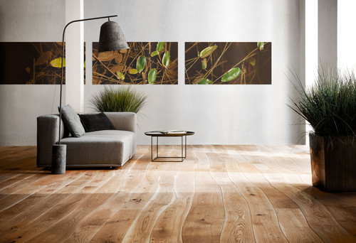 Wooden flooring in contemporary interiors