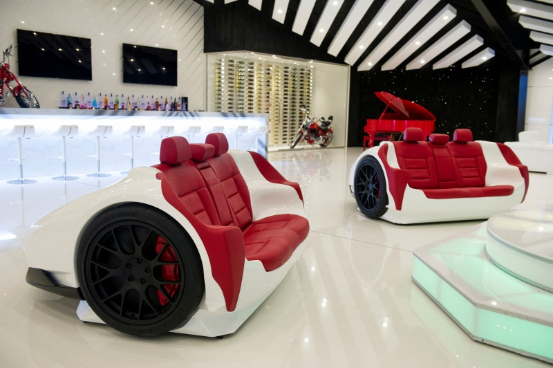 Spotlight On Bentley Hotel Rooms And Lamborghini Furniture In The Fast Lane Designs