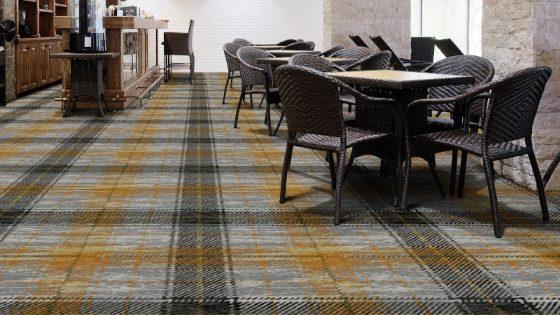 Wilton Carpers' take on tartan