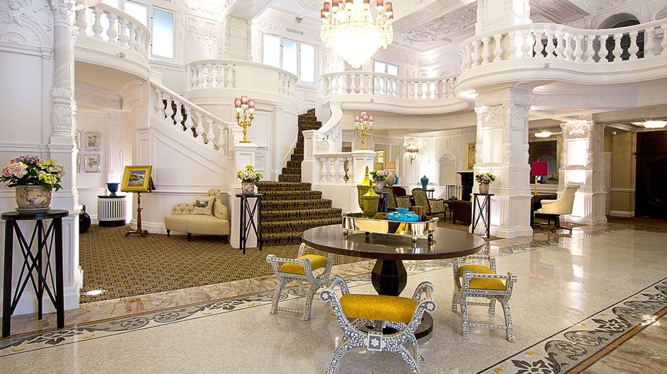 Lobby of St Ermin's Hotel