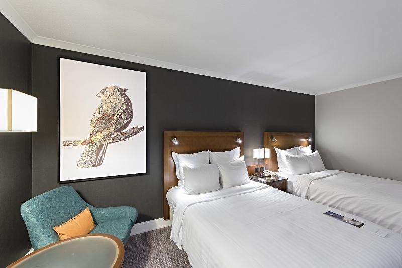 For the guestrooms designed by anita rosato interior design the