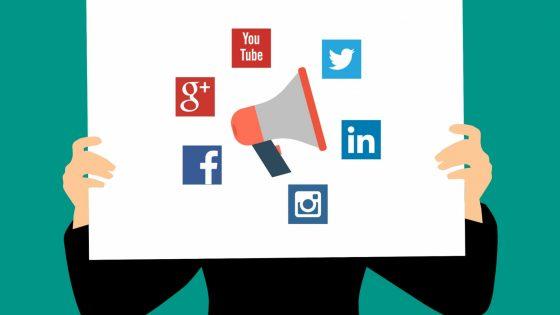 Animation of social media
