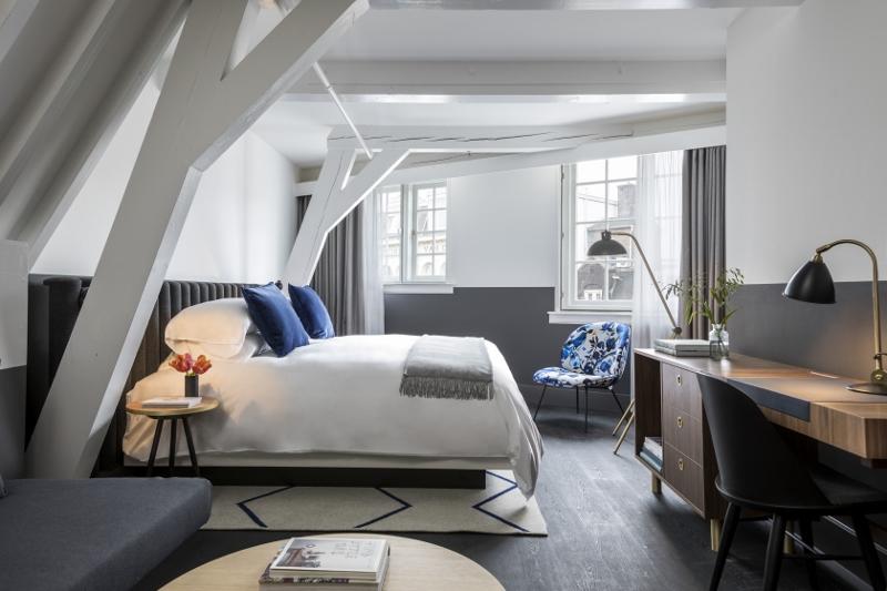 Image credit: Kimpton DeWitt Amsterdam Hotel. Interior Design. Photography. Laure Joliet