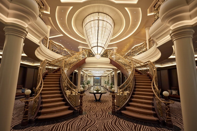 Stairway of a ship