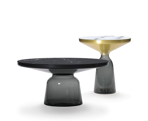 The bell table by Sebastian Herkner