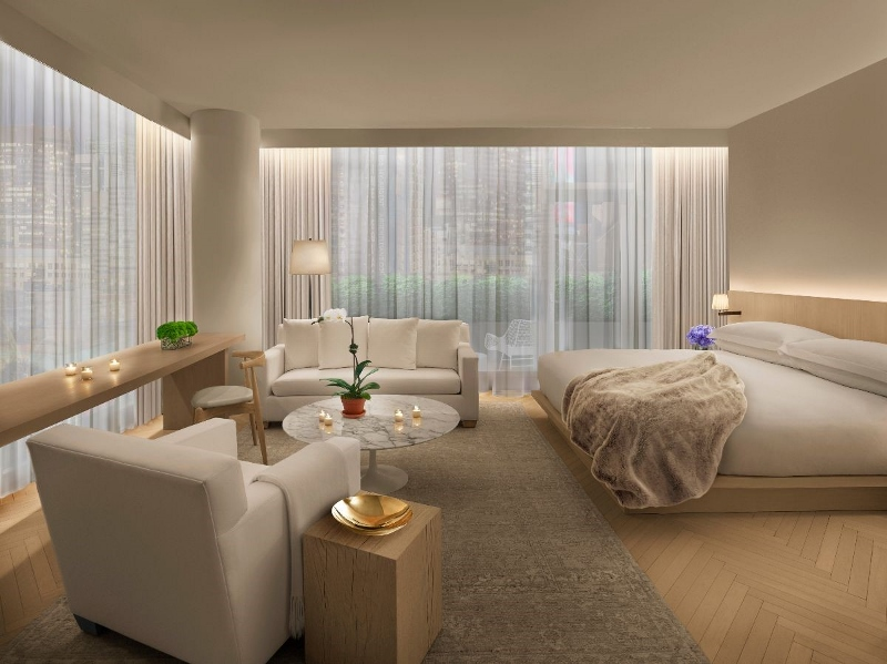 Render of a luxury suite