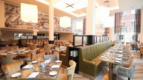 large restaurant