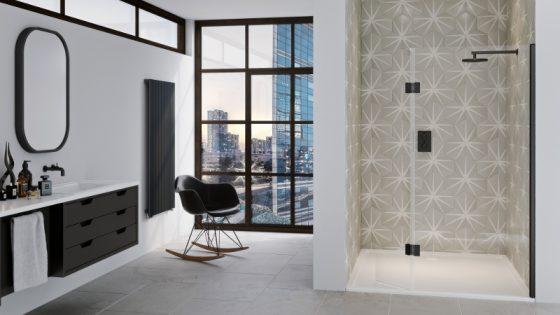 Modern industrial bathroom