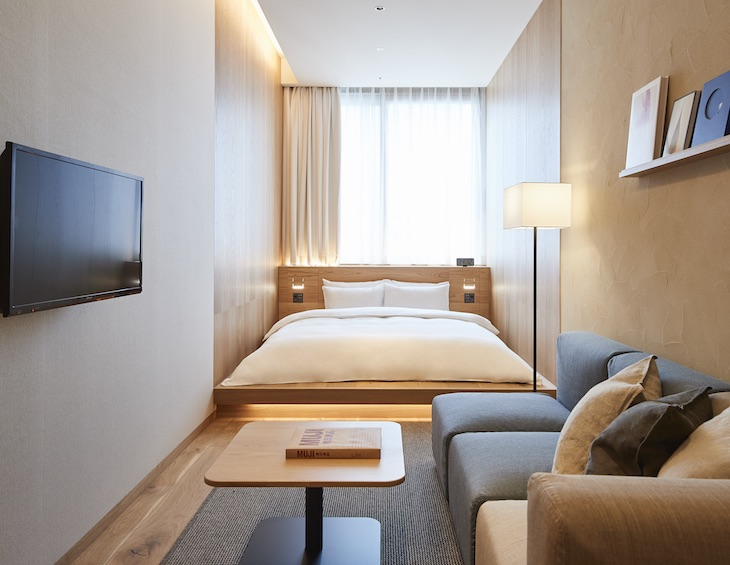 Minimalist Muji opens first hotel in Japan \u2022 Hotel Designs