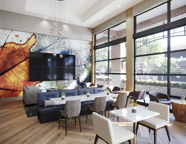 e5373690ef Responsible for the interior design renovation of the hotel s public  spaces