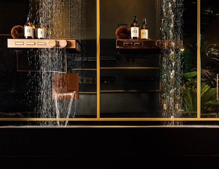 GESSI launches bathroom showers inspired by '90s Hi-Fi