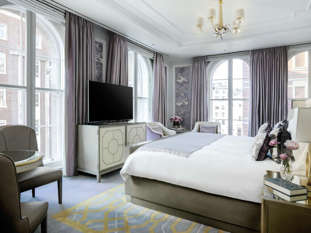 The plush Sterling Suite at Langham London
