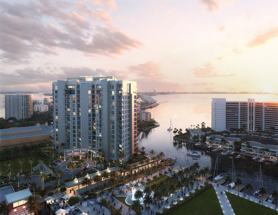 Render of The Ritz-Carlton Residences, Sarasota
