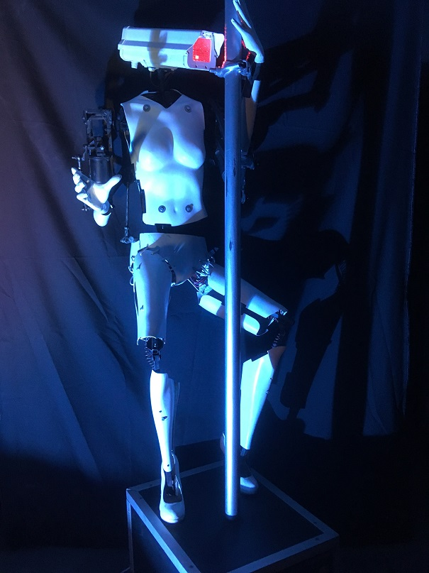 Robot pole dancing