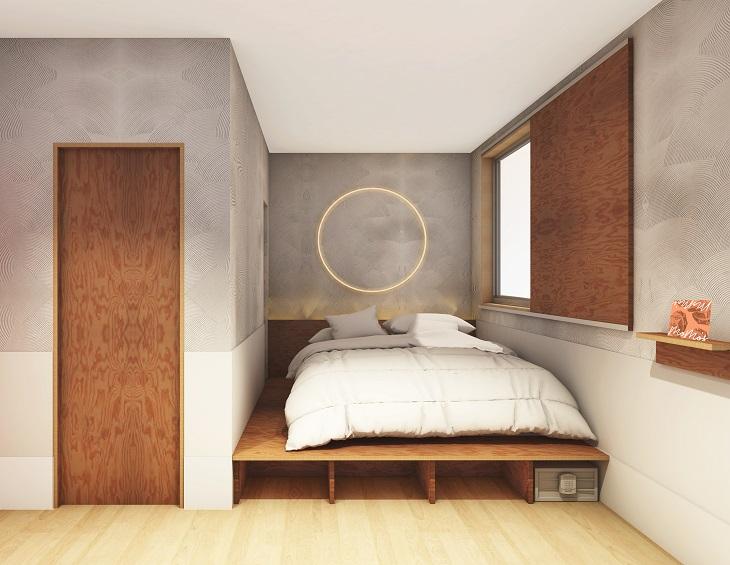 Straightforward Kensington Stylish Wooden Ottoman Bed Profit Small Beds & Mattresses