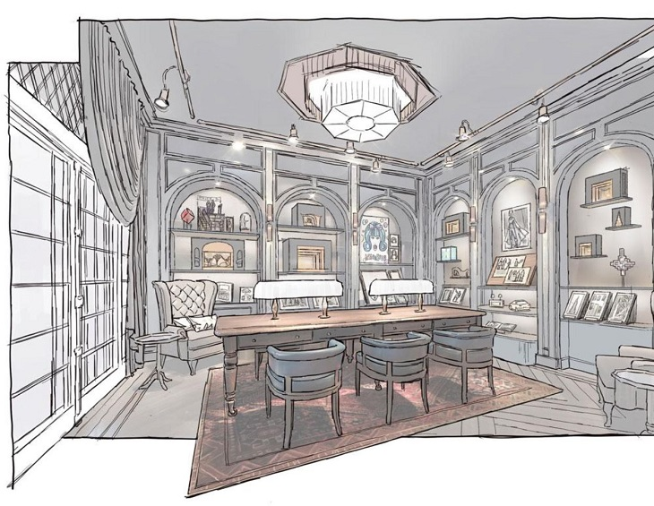 Rockwell Group To Design Theatrethemed Hotel In Broadway New York Beauteous Two Bedroom Suites In Nyc Concept Design