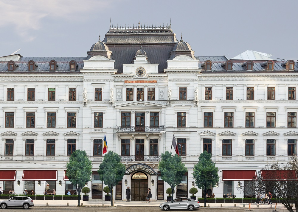 Exterior render of Corinthia Burcharest