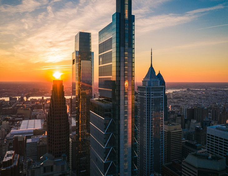 Four Seasons Hotels arrive at the Comcast Centre